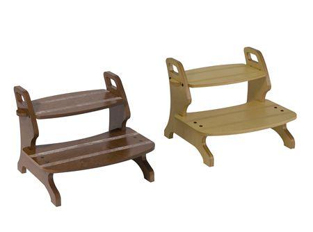 Scaletta in legno gradini idee di design per la casa